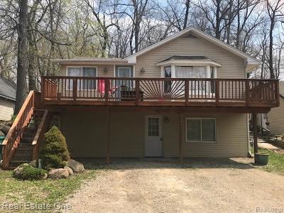 Brandon Twp, Ortonville, Ortonville Vlg Single Family Home For Sale: 1735 Patterson Street