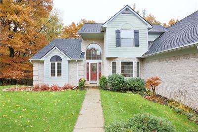 White Lake Twp MI Single Family Home For Sale: $389,900