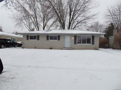 Sterling Heights MI Rental For Rent: $1,500