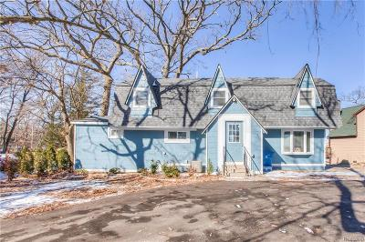 Single Family Home For Sale: 546 Bellevue Avenue