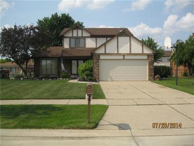 Sterling Heights Single Family Home For Sale: 3551 Chippendale Drive W