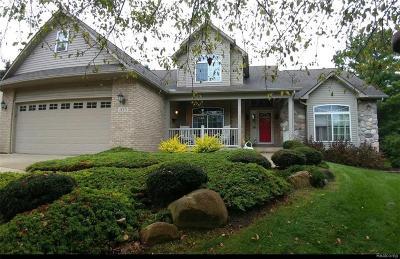 Brandon Twp, Ortonville, Ortonville Vlg Single Family Home For Sale: 105 Crescent Hill Drive
