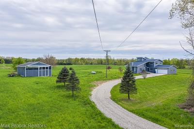 Single Family Home For Sale: 4597 Sites Road