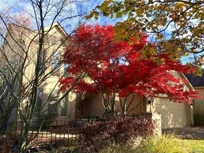 West Bloomfield, West Bloomfield Twp Condo/Townhouse For Sale: 6455 Noble, West Bloomfield, Mi 48322 Road