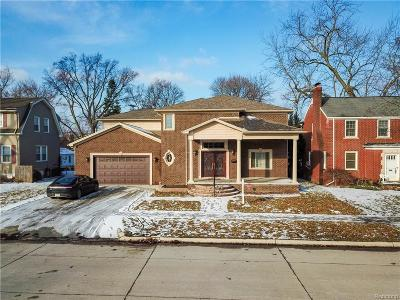 Dearborn MI Single Family Home For Sale: $899,900