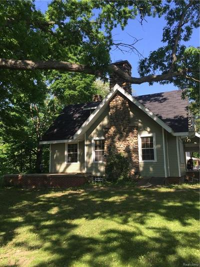 Canton, Canton Twp Single Family Home For Sale: 39936 Warren Road
