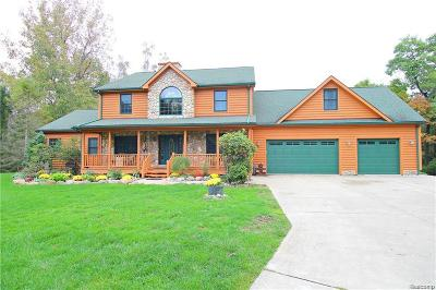 Clarkston, Independence Twp, Springfield Twp, Village Of Clarkston  Single Family Home For Sale: 12300 Buggy Whip Court