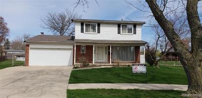 Macomb County, Oakland County, Wayne County Single Family Home For Sale: 11101 Hanna Drive