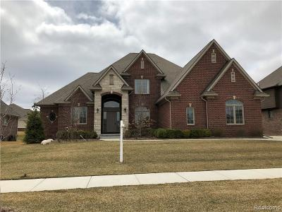 Shelby Twp MI Single Family Home For Sale: $519,900