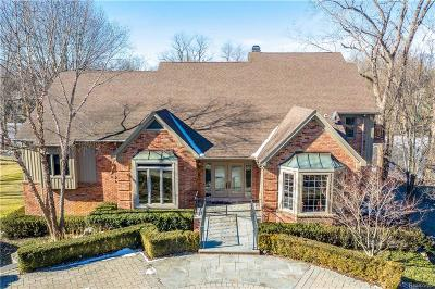 West Bloomfield Twp Single Family Home For Sale: 2076 Shore Hill Court