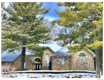 Washington Twp Single Family Home For Sale: 5583 Crystal Creek Lane S