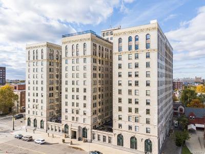 Detroit Condo/Townhouse For Sale: 15 E Kirby Apt. 1031 Street #1031