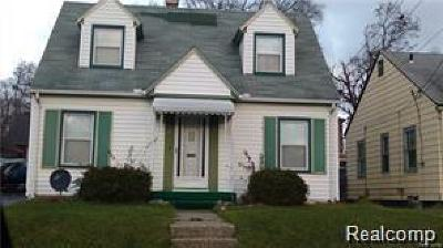 Pontiac MI Single Family Home For Sale: $78,900