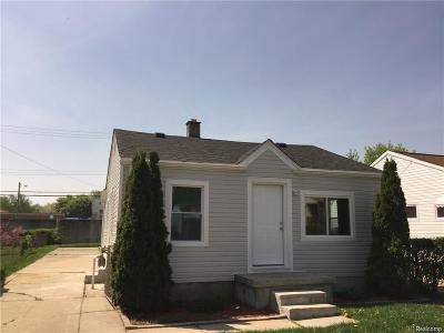 Plymouth Twp, Canton Twp, Livonia, Garden City, Westland Single Family Home For Sale: 28667 Krauter Street
