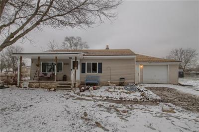Macomb County Single Family Home For Sale: 60600 Avendt Drive