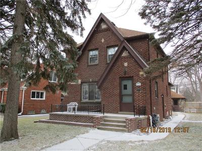Trenton Single Family Home For Sale: 2604 Chelsea Street
