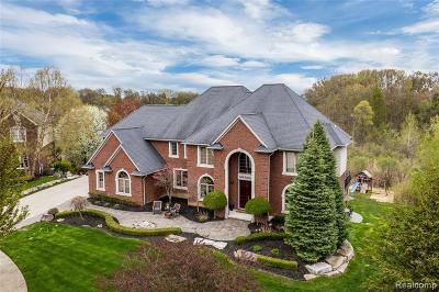 Washington Twp Single Family Home For Sale: 6466 Beacon Hill Court