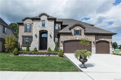 Macomb County, Oakland County Single Family Home For Sale: 13550 Valencia Drive