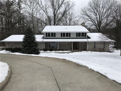 Farmington Hills Single Family Home For Sale: 35533 Valley Creek