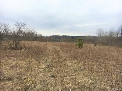 Brandon Twp MI Residential Lots & Land For Sale: $59,900
