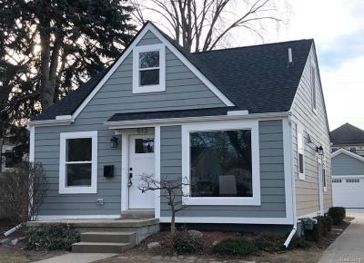 Royal Oak Single Family Home For Sale: 513 Cherry Avenue