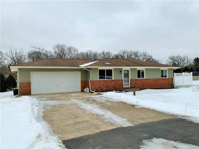 Macomb County, Oakland County Single Family Home For Sale: 2780 Mussen Drive