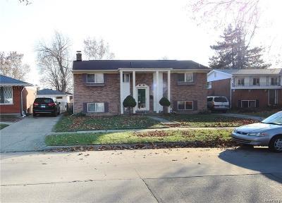 Warren Single Family Home For Sale: 4792 Parent Avenue