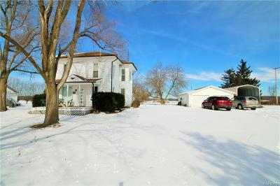Genesee County Single Family Home For Sale: 4217 E Wilson Road