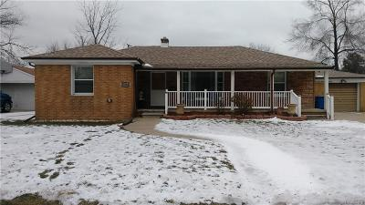 Warren Single Family Home For Sale: 23564 Hill Avenue