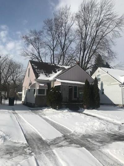 Detroit Single Family Home For Sale: 19727 Greenview Avenue