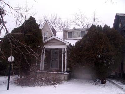 Detroit Single Family Home For Sale: 11637 Mendota
