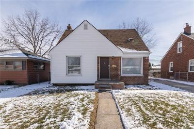 Allen Park Single Family Home For Sale: 8137 Pelham Road