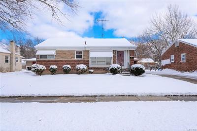 Livonia Single Family Home For Sale: 11220 Haller Street