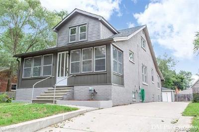 Royal Oak Single Family Home For Sale: 3408 Durham