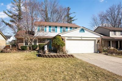 Macomb Twp Single Family Home For Sale: 47624 Valley Forge Drive