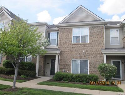 Hartland Twp Condo/Townhouse For Sale: 10270 Crossview Trail