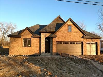 Washington Twp Single Family Home For Sale: 60854 Jewell Road