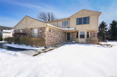 Livonia Single Family Home For Sale: 34743 Pembroke Avenue