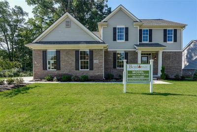 Van Buren Twp Single Family Home For Sale: 13491 Cobblestone Creek Drive