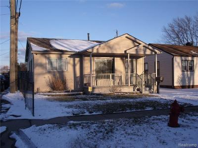 Taylor Single Family Home For Sale: 7141 William St