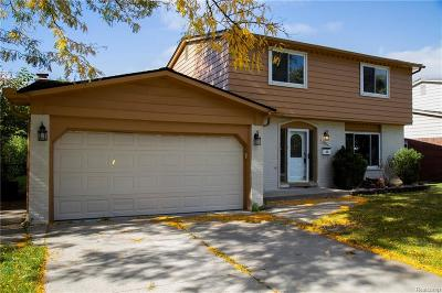 Sterling Heights Single Family Home For Sale: 36843 Kyro Court