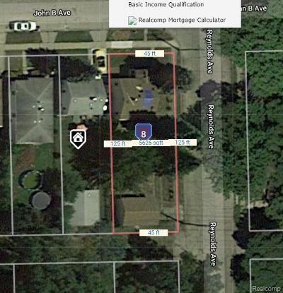 Warren Residential Lots & Land For Sale: 2442 John B Avenue