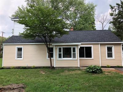 Ann Arbor Single Family Home For Sale: 2537 Platt Road