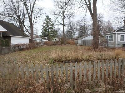 Harrison Twp Residential Lots & Land For Sale: 27150 Lanse Creuse