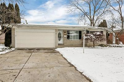 Sterling Heights Single Family Home For Sale: 13250 Grand Haven Drive