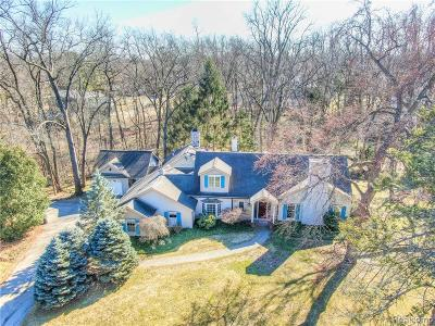 Bloomfield Twp Single Family Home For Sale: 4205 Valley Forge Road