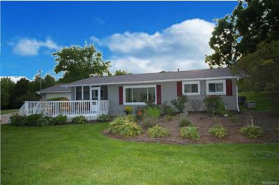 Brandon Twp, Ortonville, Ortonville Vlg Single Family Home For Sale: 2580 S Sashabaw Road