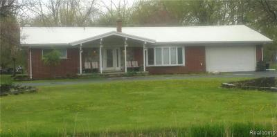 Brownstown, Brownstown Twp Single Family Home For Sale: 19101 Gudith Road