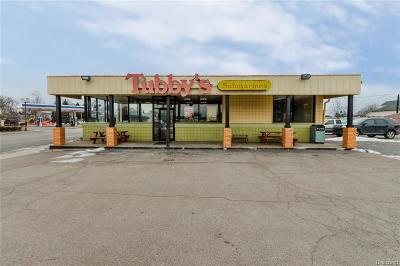 Royal Oak Commercial For Sale: 1612 E 11 Mile Road