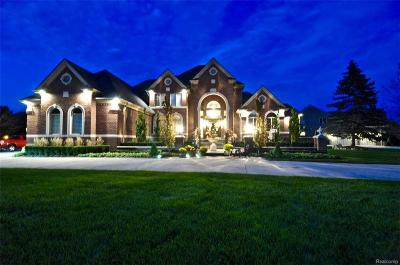 Shelby Twp MI Single Family Home For Sale: $1,300,000